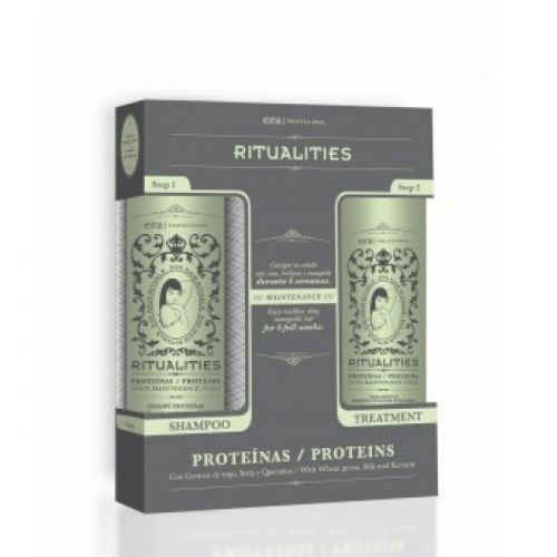Ritualities Proteins HOME (1 shampoo/1 conditioner)
